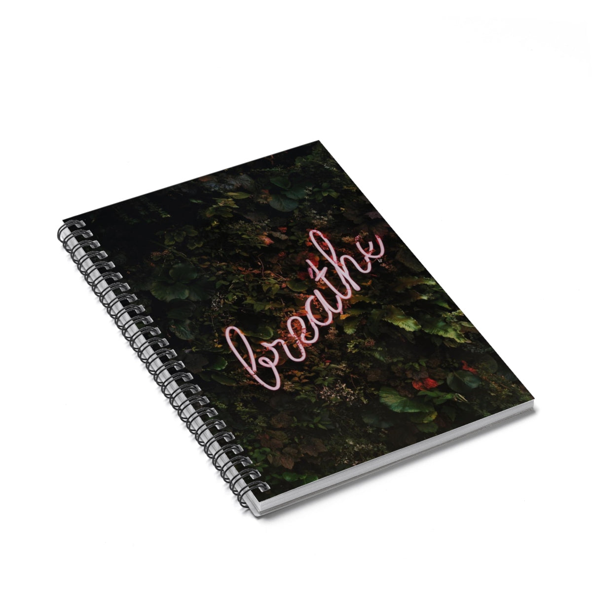 Breathe! Spiral Notebook - Ruled Line