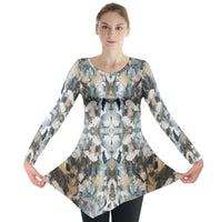 Blue Marble Shield Long Sleeve Tunic