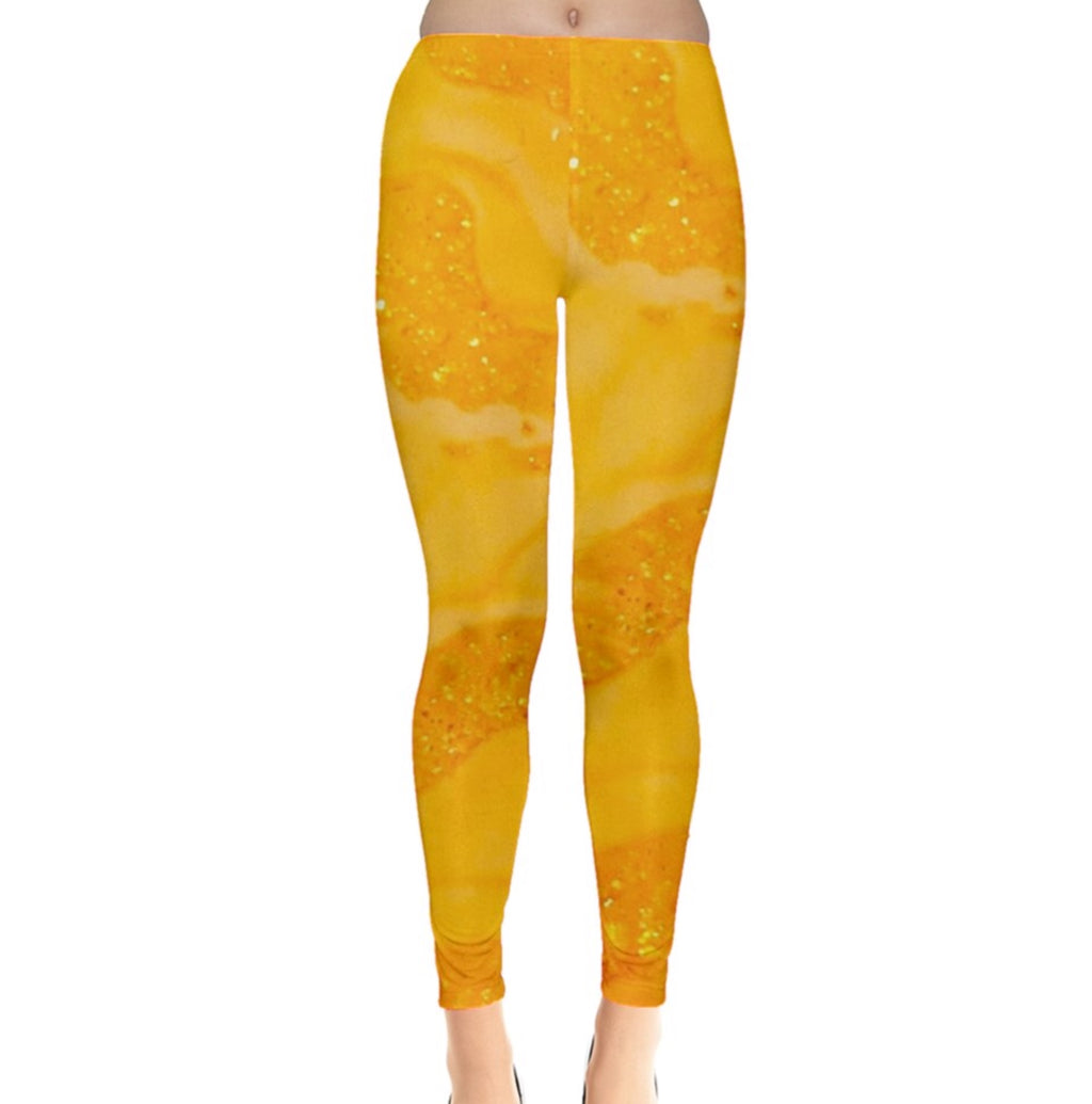 Yellow Zest Leggings
