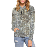 Gray Threads Hoodie for Women