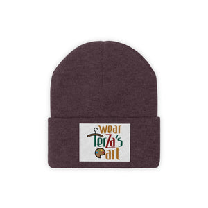 Knit Beanie with logo