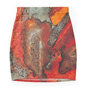 The Greys of Orange Mini Skirt