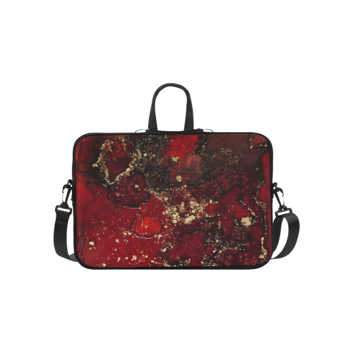 Red Mocha Meets Gold Briefcase for Macbook Pro 15''