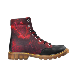 Red as the Heart Apache Round Toe Women's Winter Boots