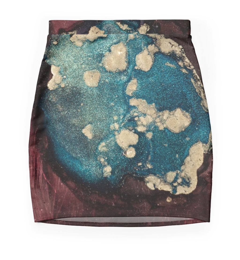 Global Warming Mini Skirt