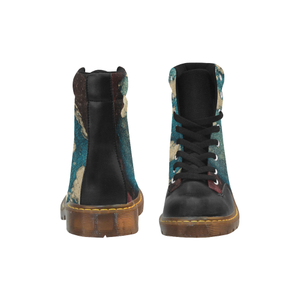 Intriguing Apache Round Toe Women's Winter Boots