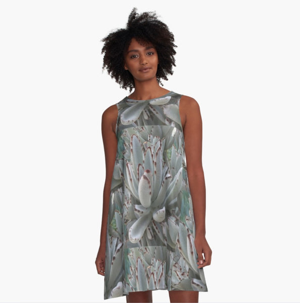 Gray is Beautiful A-Line Dress