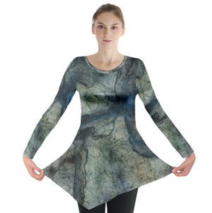 Blue Threads Long Sleeve Tunic
