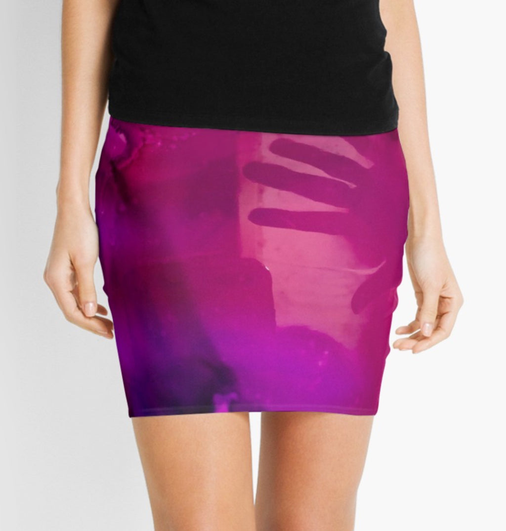 Unhand My Heart Mini Skirt