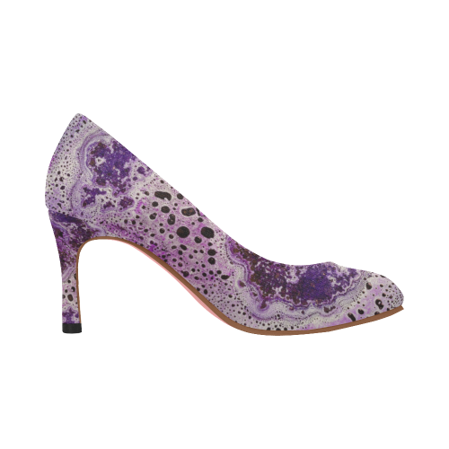 Dalmatian Purple High Heels