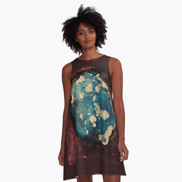 Global Warming A-Line Dress