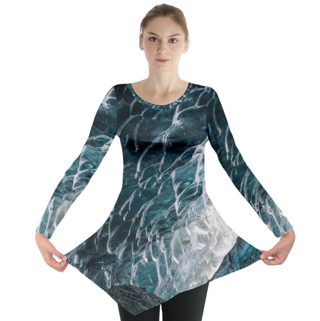 Ice of the Beholder Long Sleeve Tunic