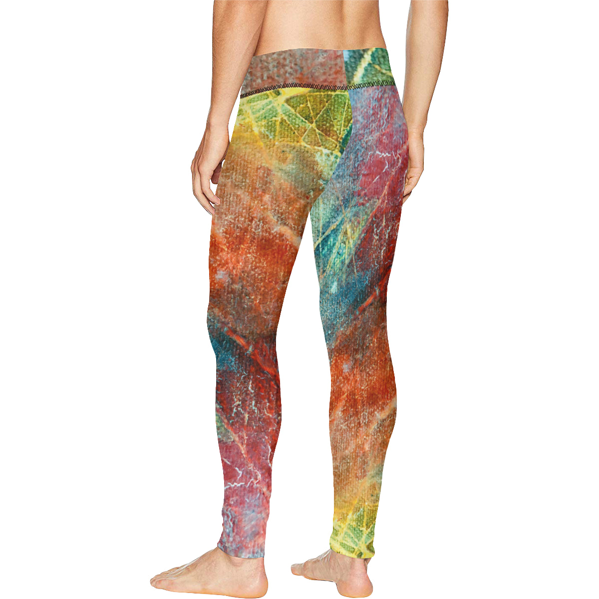 colors All Over Print Meggings