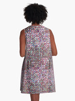 Whispers of a Colorful KInd A-Line Dress