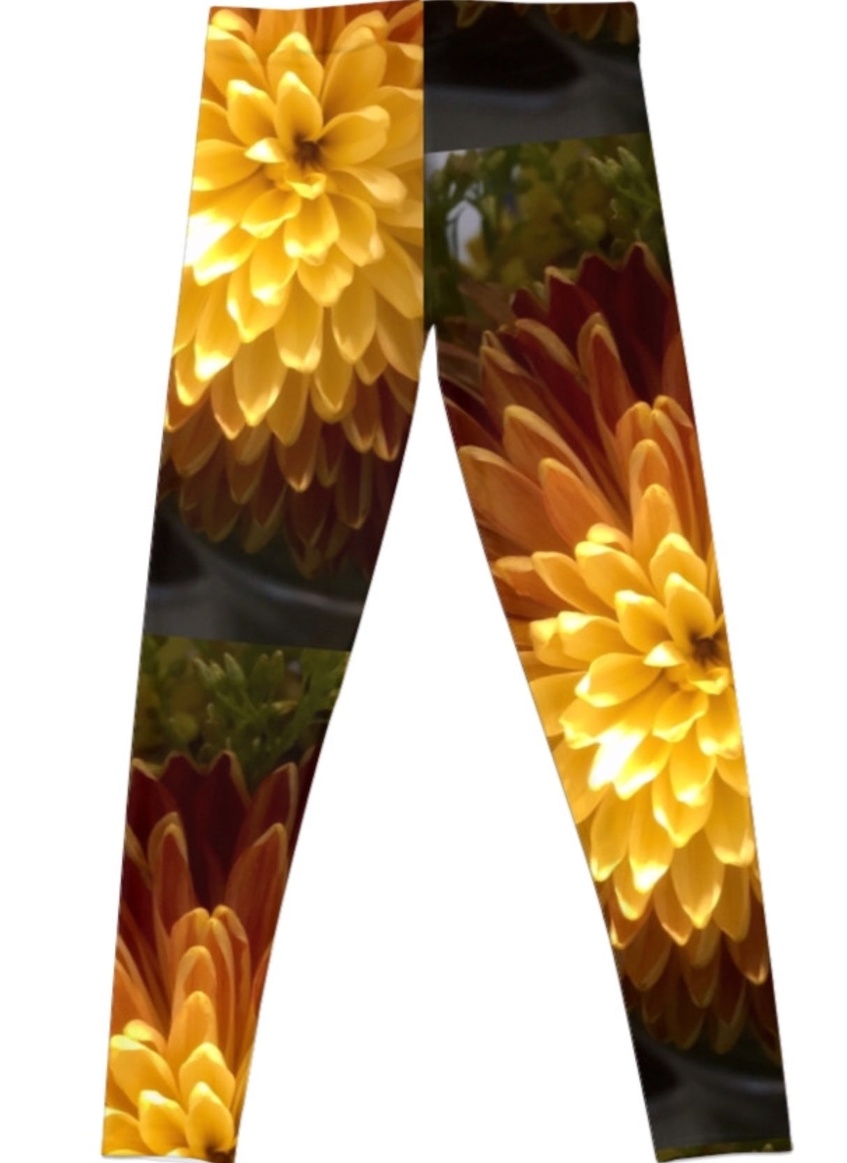 Chrysanthemum Leggings
