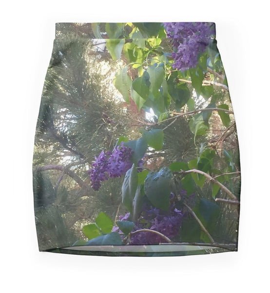Oh Yes, Lilac! Mini Skirt