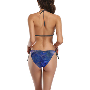 Party Night! Buckle Front Halter Bikini