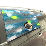 Limoncello Pet Car Window Curtain