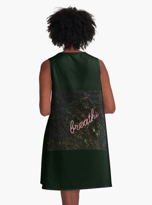 Breathe! A-Line Dress