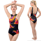 Do Fish Dream in Color Cross Over Swimsuit
