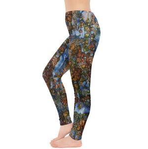 Cut the Earth into Cubes Leggings