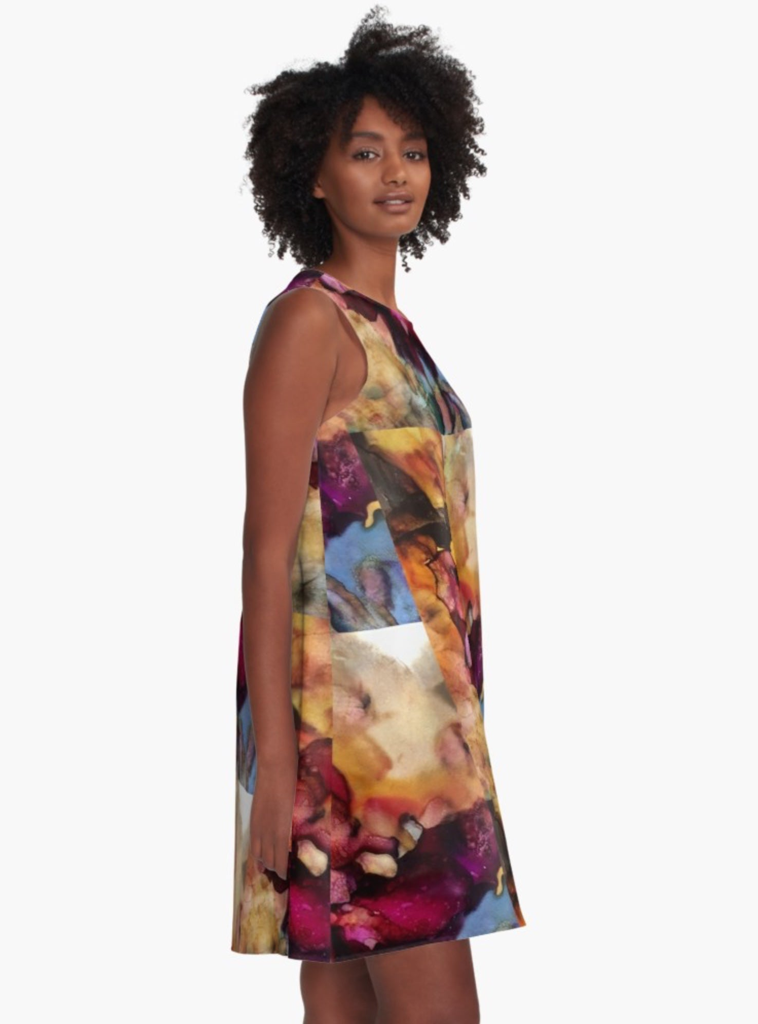 Just Another Dragon Sunrise A-Line Dress (Artist Favorite)
