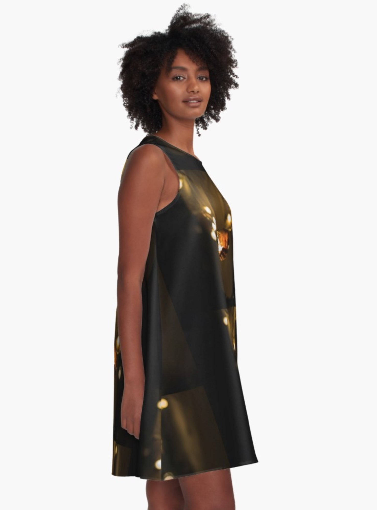 Holding the Light A-Line Dress