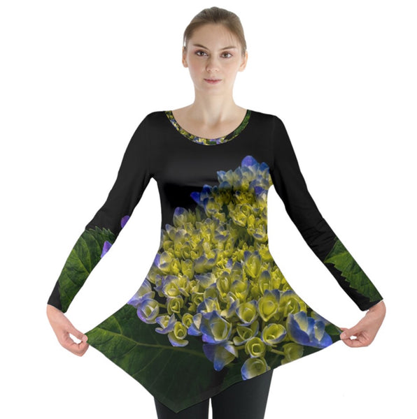 Blooms of Summer Long Sleeve Tunic