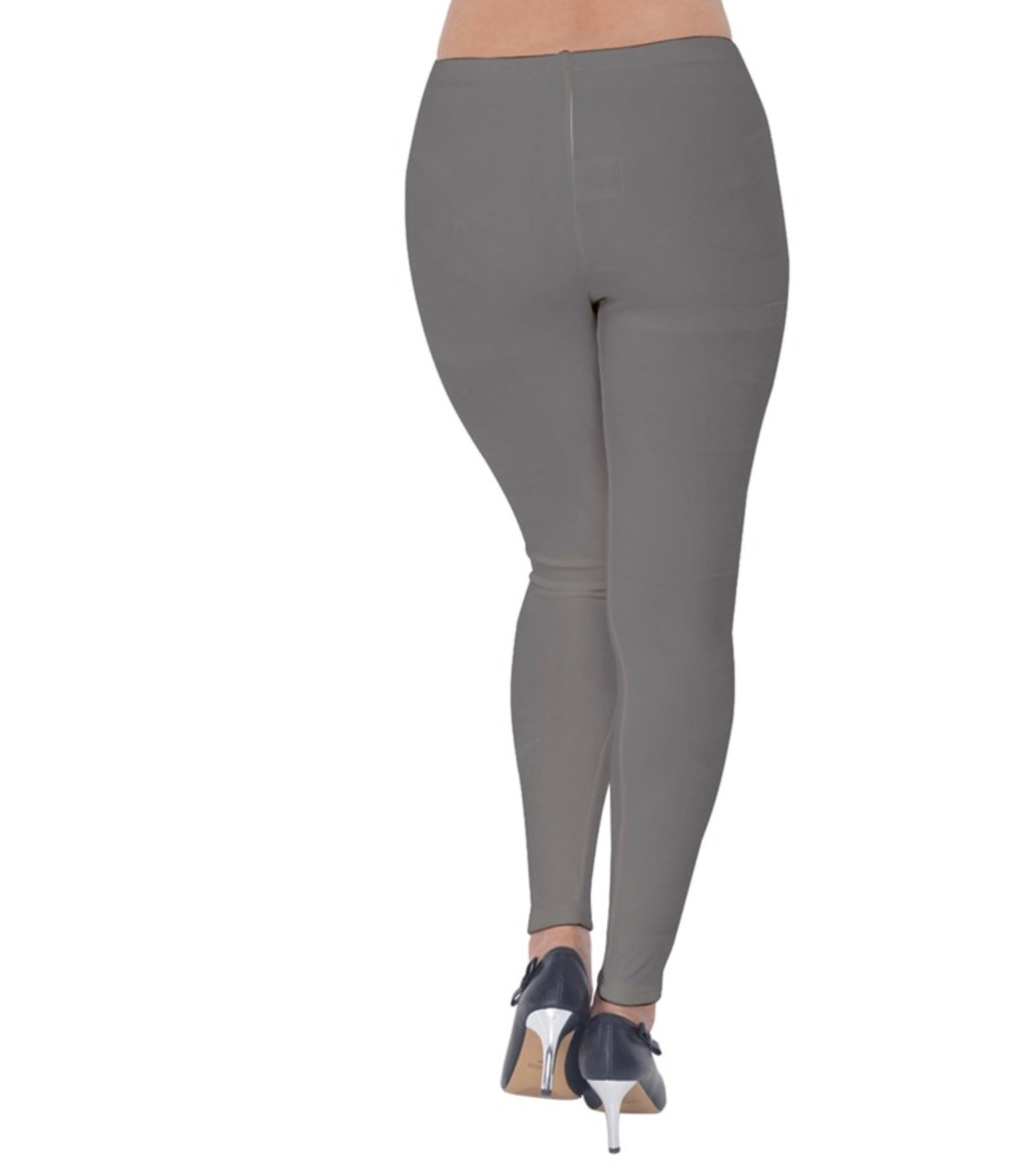 Simply Gray Velvet Leggings