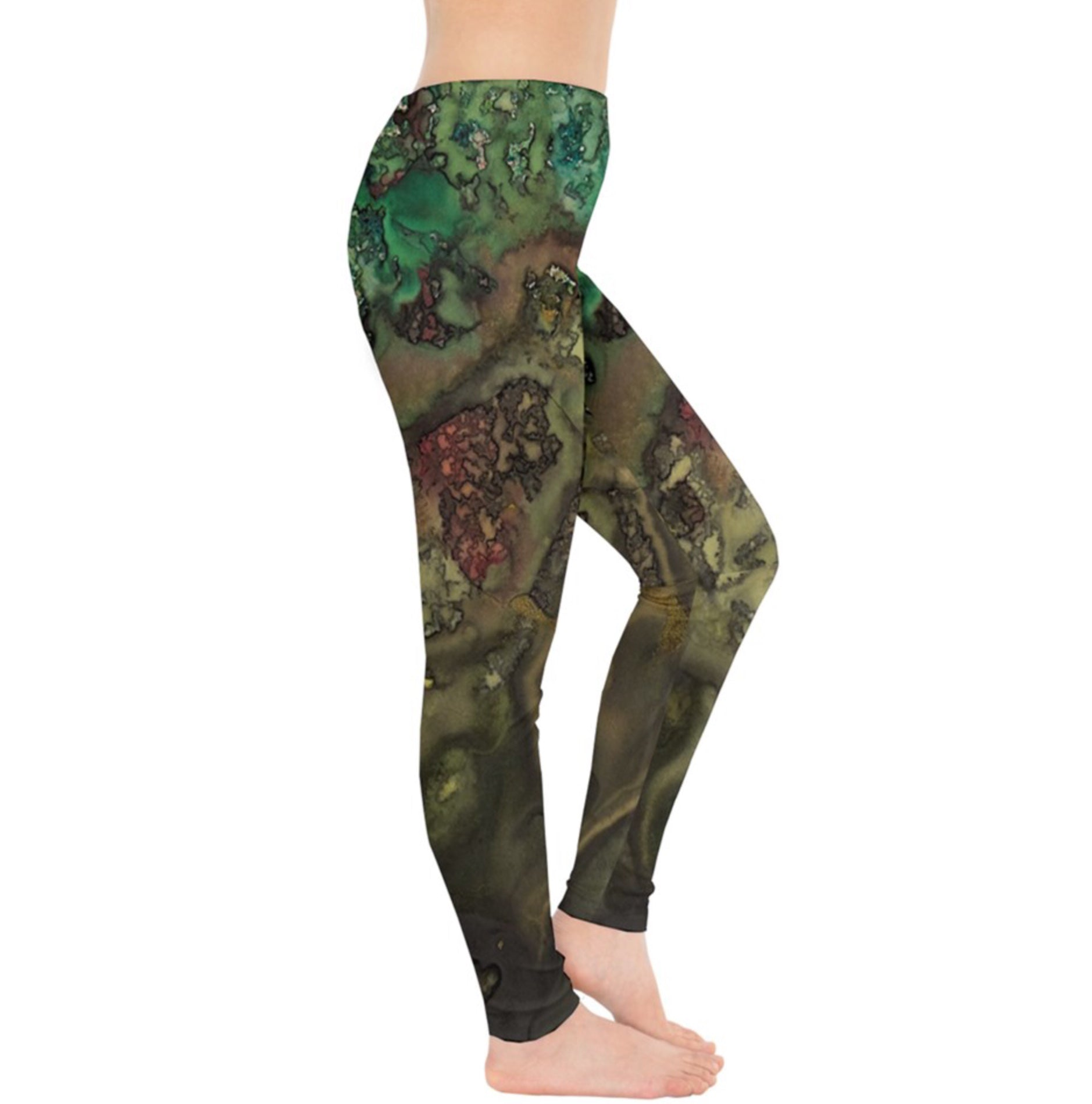 Bronzing the Greens Leggings