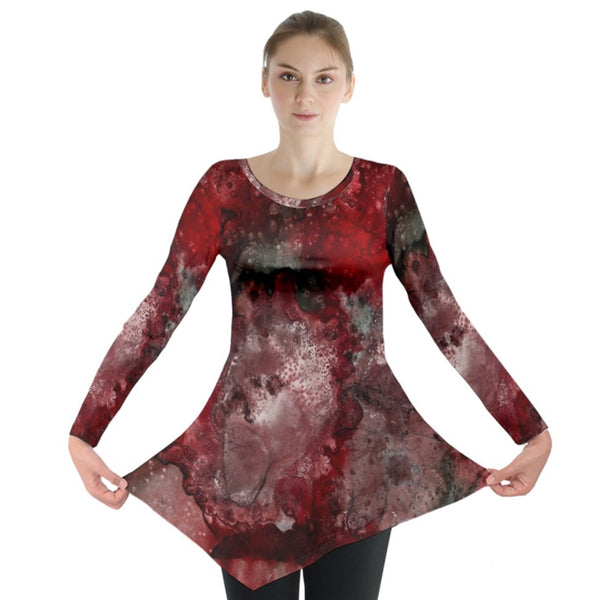 How Red Was Born Long Sleeve Tunic