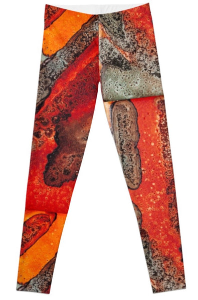 The Greys of Orange Leggings