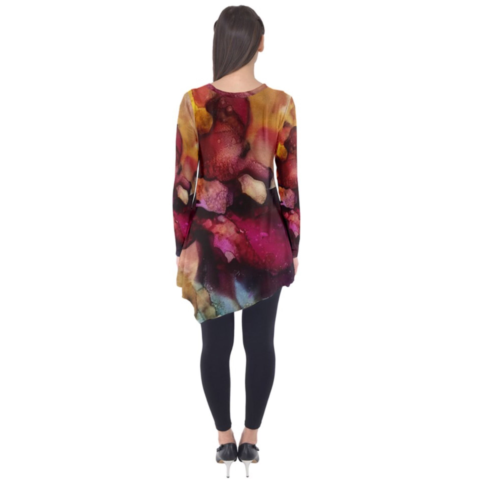 Just Another Dragon Sunrise Long Sleeve Tunic