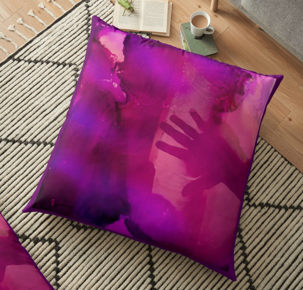 Unhand My Heart Large Spun Polyester Pillows