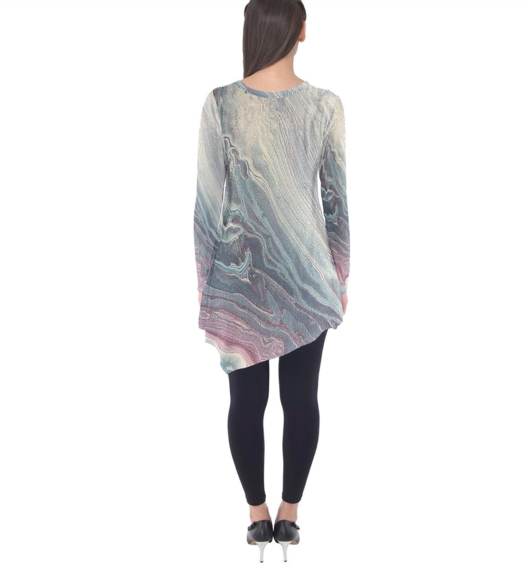 Athena Whispers Long Sleeve Tunic