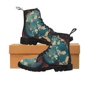 Melting Earth Martin Boots for Women