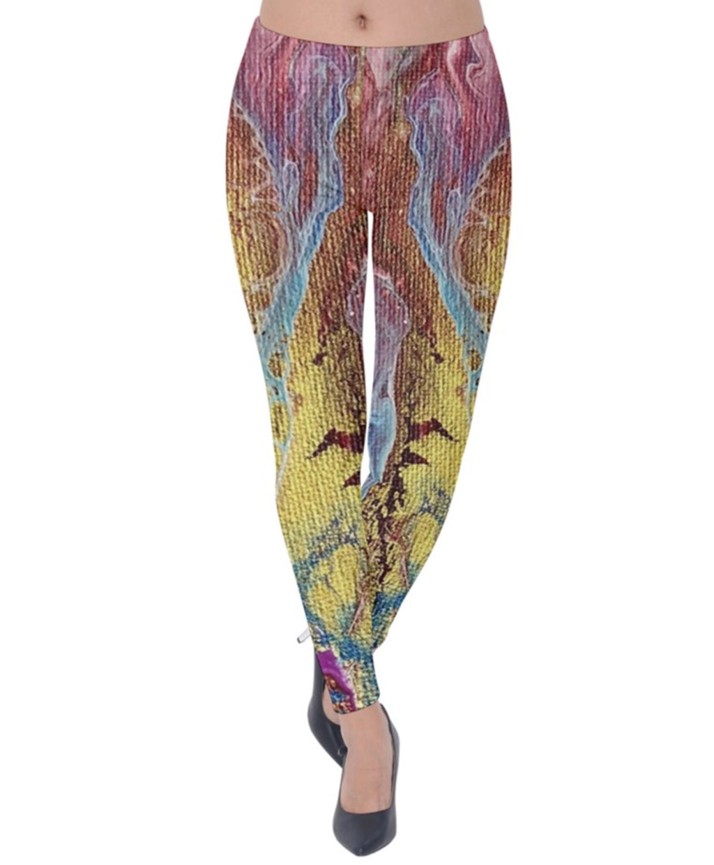Dragon's Tears Velvet Leggings