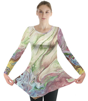 The Greening of Jupiter Long Sleeve Tunic