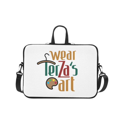 "Wear Terza's Art Briefcase for 17"" Laptop"