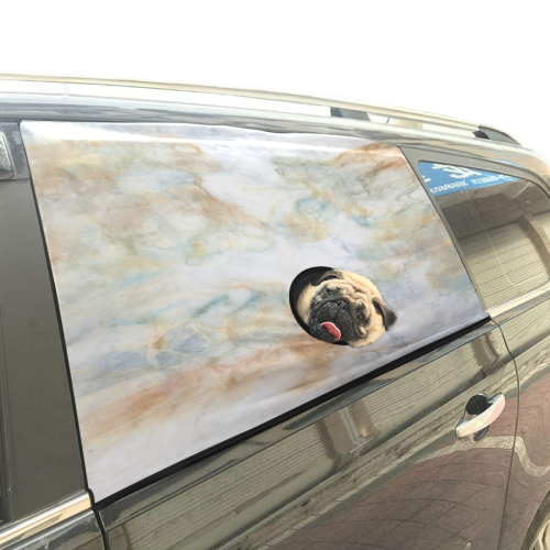 Softly Country Pet Car Window Curtain