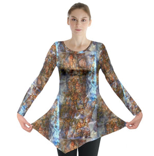 Autumn Glints Long Sleeve Tunic
