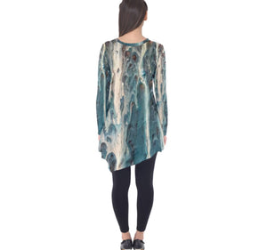 The Blues Long Sleeve Tunic
