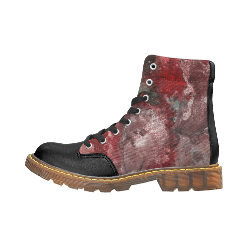 How Red Was Born Apache Round Toe Women's Winter Boots