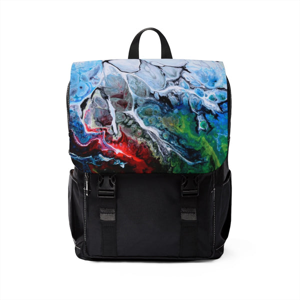 Cracks into Color Casual Shoulder Backpack