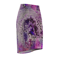 Amethyst Pencil Skirt