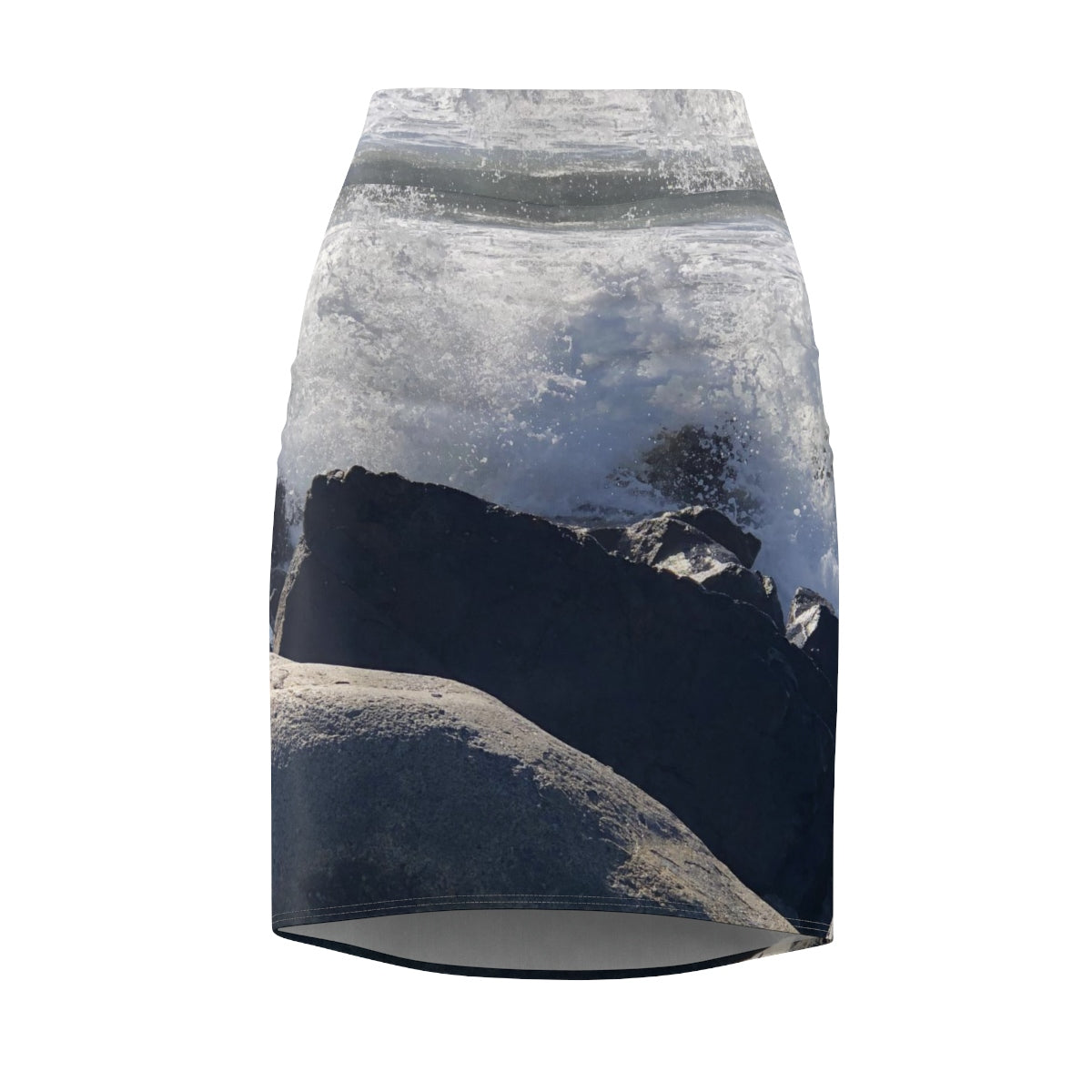 Into the Spray Women's Pencil Skirt