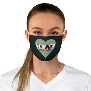 Dr T M W Fabric Face Mask