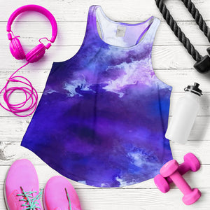 Purple smoke tank