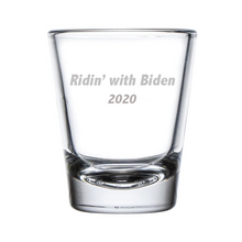 Load image into Gallery viewer, Ridin' With Biden Shot Glass - 2