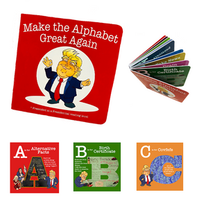 Make The Alphabet Great Again Book